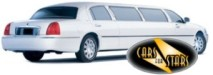 White limousines for hire for weddings in the Watford area. Wedding limousines Watford