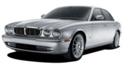Chauffeur driven cars in Watford area, including the long wheel based version of the new Jaguar XJ